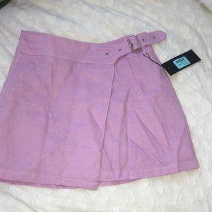 Carmar (LF) light purple wrap skirt- never worn